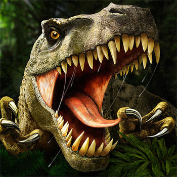 Carnivores: Dinosaur Hunter - The most exciting hunting journey starts now! The only game which lets you see amazing predatory dinosaurs in action and challenge them for ultimate survival!Carnivores: Dinosaur Hunter is a hunting simulation that is completely true to life and totally breathtaking. You land on a distant planet inhabited by dinosaurs and progress from a shy wildlife observer to a stealthy and ruthless T-Rex hunter. All dinosaurs are in full 3D complete with their terrifying roars!• Chose time of day (night vision on!)• Fill the area with dinosaurs to your liking and skills• Equip with camouflage, cover scent or radar • Pick a weapon and hunt or take a camera and observe• Store your prey in real-size trophy room• Go green and use tranquilizer instead of bullets• Read tips and tricks for every dinosaur in 'Dinopedia'• Upgrade to PRO with one-time purchase and get access to 7 huge 3D areasTo anyone who played Carnivores on PC, guaranteed hours of nostalgia!PRO version has 22 dinosaurs now and more are coming! The game is compatible with Fling controller.Become a fan of Carnivores on Facebook: http://www.facebook.com/carnivoresThank you for playing our games! Stay in touch for news and updates:www.facebook.com/tatemgameswww.twitter.com/tatemgameswww.youtube.com/tatemgamesThank you for playing our games. We read all of your comments and do our best to make the game better. Keep going!