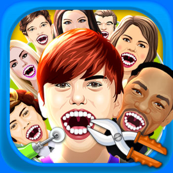 Celebrity Dentist Doctor Salon Kids Game Free - Become a dentist and take care of your favorite Celebrities!!Don\'t get too crazy, these famous people need there teeth cleaned... badly!Have soooo much fun playing this little crazy dentist game!