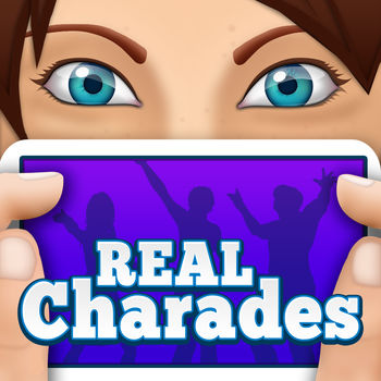 CHARADES FREE - Multiplayer word trivia for friends with new heads up timer - CHARADES CAN YOU GUESS IT? is an exciting and hilarious new game similar to charades. Play with friends and family today for free.  Choose from acting like an animal to guessing your favorite TV shows and everything in between.Will you be able to guess the words on your device from your friends' clues before the 60 second timer runs out?Features:* Free to play* Play with one friend or a large crowd* Extremely entertaining categories for all ages* 60 second timer* Works on all devicesPick from 45 fun categories that are loaded with exceptional words and phrases you will want to play for hours!Categories include: Brands, Breakfast Cereals, Objects, Fantasy, Jobs, Football, Astronomy, Candy, Act it out, Minecraft, Superhero, Adults, Game of Thrones, Kids\' Movies, Popular songs, Cartoons, Elements, Presidents, Video Games, Fruits, Animals, Dances, Essential Oils, Christmas, Kitchen Utensils, Phobias, Summer Fun, Tools, TV Shows, Popular Dances, Board Games, Feelings, Movie Buff, Seinfeld, States, Halloween, Novels, Famous Died People, Fictional Characters, Top Musical Artists, 90\'s, Top 300 Movies, Famous Alive People.