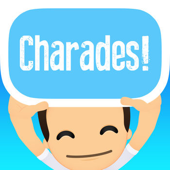 Charades!™ - Charades! is the outrageously fun and exciting multi-activity game for you and your friends!With different challenges from dancing, singing, acting or sketching -- guess the word on the card that's on your head from your friends' clues before the timer runs out!Features:- Play with one friend, or one hundred at the same time.- Draw a new card by tilting your phone up or down- Wacky activities from dancing, impersonating to trivia will challenge even the most well-rounded playersWith over 45 themed decks to choose from, each packed with over 100+ exciting gameplay cards, the fun will never stop! So whether you\'re an artist, a singer, an actor, or a science nerd--there\'s something for everyone.Decks include:- TV Shows & Movies- Dance Moves- Science- I Love the 70s, 80s, & 90s- Movie Characters- And lots more!Challenging players in trivia and creativity, your next party, reunion or family game night will never be the same.