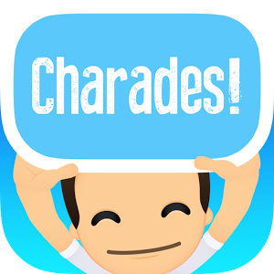 Charades! - Charades! is the outrageously fun and exciting multi-activity game for you and your friends! With different challenges from dancing, singing, acting or sketching -- guess the word on the card that's on your head from your friends' clues before the timer runs out! Features: - Play heads up against one friend, or one hundred at the same time.
