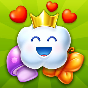 Charm King™ - Capture and collect colorful Charms as you work your way through the most charming NEW puzzle adventure! Conquer tons of fun Match-3 challenges in your quest to earn the crown and become the ultimate Charm King!CHARM KING FEATURES:• Completely FREE to play• Beautifully vivid HD graphics• Play and progress with friends• Spectacular boosts to blast through challenges • Loads of charming levels• Unlock new regions and exciting new gameplayPlease note Charm King is completely free to play but some in-game items such as extra moves or lives will require payment. You can turn-off the payment feature by disabling in-app purchases in your device's settings.