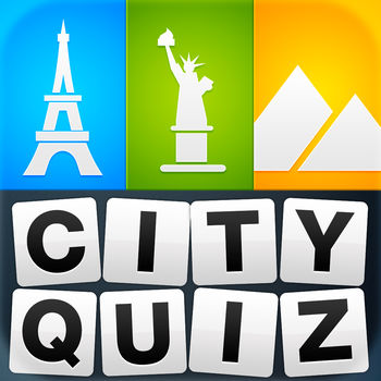 City Quiz - Guess the city ! - The most popular city quiz finally has arrived in your country.The concept is simple, you have 4 photos and you must guess which city they are! How many will you be able to recognise?Come and test your geography skills!Only 1.5% of players have managed to finish the game!PLAY IT NOWWhether you are on a plane, at your place, or even at work you can take part in the fun and build your memory!The only rule: guess the city!Cities from all over the world!No sign-upPlay offlineUNLIMITED FUN Hundreds of cities available!New cities added regularly in real-time. No need to update to continue playing!A CONTINUOUS CHALLENGE Able to find all the cities? Some levels too easy? Don\'t worry, the next ones will be much harder :)