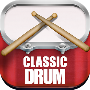 Classic Drum - CLASSIC DRUM is a free app for Android that simulates a vintage drums in your mobile/tablet screen. To play it, just drumming your fingers on the pads of drums and the sound is played simultaneously. A fun, light and easy to use application. Ideal for those who want to study or play drumming without making much noise or taking up much space. You do not need to know how to play drums, Classic Drum comes with 60 lessons rhythms with tutorial for you to learn to play. Also comes with 33 songs to play along, and still allows you to track songs live. For example, you can give the play a song from your collection and accompany its on drums. The application has samples of acoustic percussion. Sounds recorded with studio audio quality. You can also customize the layout of the pads, adjusting your best way to play. Check out the features of the Classic Drum: * Multitouch* 13 drum pads* 15 realistic drum sounds* Studio audio quality* Instruments like kick, bass, snare, tom, floor, cymbal, hi-hat, ride, crash, bell,  cowbell and tambourine* 60 examples of rhythms with tutorial mode* 33 backing track songs* Record mode* Complete acoustic drum kit* Export your records to mp3* Works with all screen resolutions - Cell Phones and Tablets (HD Images)* FreeThe app is free, but you can remove all advertisements buying a license! Experience the best vintage drums of the Google Play! Made for drummers, percussionists, professional musicians, amateurs or beginners!