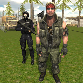 Commando Behind EnemyLines Sniper Combat Blackouts - Commando  Behind Enemy Defense is based on Different Types of war missions from Jungle land strike to harbour defense.Just Choose your favorite War Zones and kill Enemy troops to win the battle, enemy troops occupied many important bases in our country you need to use suitable weapons and strike back with iron hands.Save the harbor from incoming attack from enemy fast attack battle ships , conquer the enemy post in deserts and do not allow them to cross the river , Destroy the bridge if you find bombs there.You are well Trained for hard battles , you have defeated enemy commandos many time its your final test of skill.