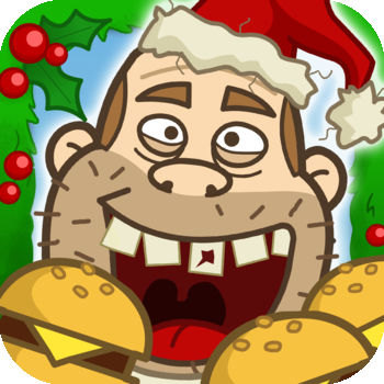 Crazy Burger Christmas - by Top Addicting Games Free Apps - Among the Best Free Games on the iTunes App Store Get it WHILE IT\'S FREE! It\'s Christmas\' Eve, and Fatty has no turkey for his Xmas meal… But that\'s not an issue, because he has the perfect plan to eat burgers \'till he can\'t eat no more! He just needs your help to get all those falling deliciousness. But thread carefully, because among the greasy delicious food that you want, lies some healthy food. Avoid it! It\'s Christmas, and no one should be forced to eat salad in the Holidays!Eat as many Hamburgers as you can in this COOL, FUN and EXTREMELY ADDICTIVE game! Crazy Burger is simply amazing and delicious. Have fun eating Fast Food from the skies until you can eat no more! After you complete each level, you can see how much weight you\'ve made Fatty gain! If you like your good greasy fast food, then you will LOVE this game!!! Play Crazy Burger Christmas Free Game!!!! Features:• Easy to play• Gorgeous graphics • Highly addictive gameplay • Amazing audio • The best adventure game on the App Store • Share with your friends over Facebook, Twitter and Email • Lots of levels• Free updatesHave fun!Best Free Games has also created other top addicting games for iPhone, iPad and iPod Touch: • TapTap Bubble Top – Free Download: http://bit.ly/TapBubble • Fun Cleaners – Free Download: http://bit.ly/FunCleaners • Crazy Burger – Free Download: http://bit.ly/CrazyBurger • Skate Escape – Free Download: http://bit.ly/SkateEscape • Rocket Soda – Free Download: http://bit.ly/RocketSoda• Flying Bunny – Free Download: http://bit.ly/FlyingBunnyFree• Dog House – Free Download: http://bit.ly/DogHouseFree• Temple Adventure – Free Download: http://bit.ly/TempleAdventure• Crazy Burger Christmas – Free Download: http://bit.ly/CrazyBurgerXmas• Like our page > facebook.com/BestFreeGamesApps • Follow us for FREE Promo Codes > twitter.com/BestFreeGames4K • Visit and get Support > www.bestfreegamesapps.com