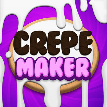 Crepe Maker - From the makers of the hit app, Cake Pop Maker, comes a brand new app, Crepe Maker!First, add ingredients and mix the crepe batter. Then, cook the crepe and fill the insides with sauces and fillings. Fold the crepe into tons of shapes, and then top the crepe off with whatever decorations you desire! Finally, eat the crepe virtually, or show it to your friends through Facebook or email!Features:-Vanilla AND Chocolate crepe batter-Chocolate sauces and fruit glazes to fill the crepe-Fruit and savory meats to stuff inside the crepe-Many different crepe shapes, from classic to animals-Over 200 unique decorations to top crepe, including a live burning candle!-A beautiful gallery to save your favorite crepes-Stunning sound effects and music-High Res graphics for iPhone/iPod retina-AND SO MUCH MORE!!!The app comes with a sampling of free options, and many more options are available for purchase.