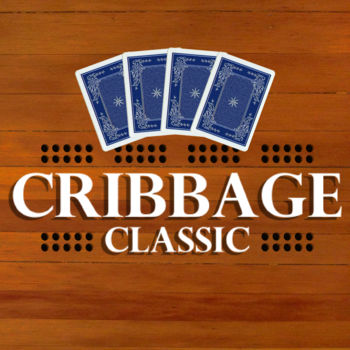 Cribbage Classic - Improve your skills and become a cribbage expert!  Cribbage classic has a number of settings that can help you to learn the best move for your situation and offer assistance if it notices that you are making a sub-optimal play.  Or just play in fast mode where all counting is done for you and you get to simply focus on discarding and pegging.  By tweaking the settings you can take this app anywhere from a lazy-thoughtless-time-waster game to a skill-sharpening-master-tutorial helping you to crush your next opponent.  Statistics are also kept so you can see your average pegging score, your average hand score, and your average crib score!  Also shows you a summary of all of the suboptimal plays you made at the end of the game and tracks your error rate over time so you can see yourself improving.Cribbage Classic also has a \