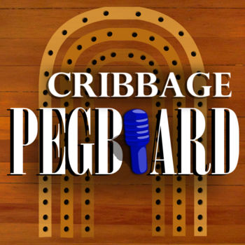 Cribbage Pegboard - Use your own cards to play cribbage and use this peg board to keep track of the score.  Allows for easy drag and drop of pegs and automatically remembers results of rivalries so you can keep track of your all time record against your friends.  Works for two or three players.  Multiple boards to choose from.Cribbage Pegboard also has a \
