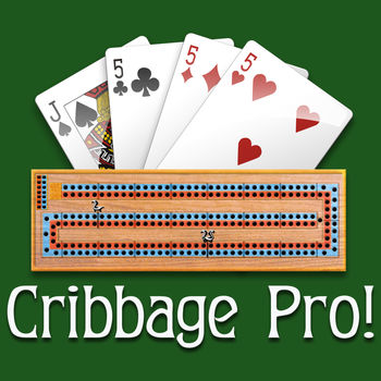 Cribbage Pro - Classic cribbage where 2 players race to 121 points with single player or online multiplayer!Play the powerful computer opponent or go online with other players worldwide!Features:* Single player or Online Multiplayer (Cross-Platform)- Remove ads with in-app purchase option* Multiplayer Contests*- Play for Gold prizes you can cash-out!- Not Gambling -> http://bit.ly/notgamble* Cross-Platform Multiplayer- iOS/iPod/iPhone/iPad & non-iOS devices* Multiplayer \
