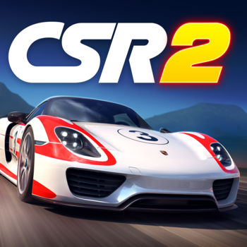 "CSR Racing 2 - CSR Racing 2 – The next chapter to the #1 drag racing series of all time has arrived! ""Unbelievably good looking"", KOTAKU ""So real it hurts"", CULT OF MAC ""Obliterates the line between console and mobile graphics"", POLYGON Setting a new standard in visuals, CSR2 delivers hyper-real drag racing to the palm of your hand."
