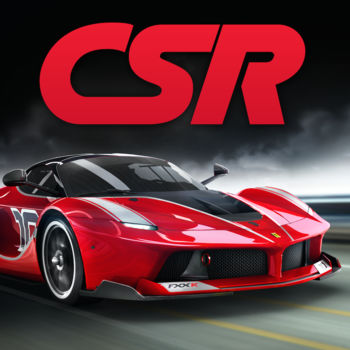 "CSR Racing - *** The best-selling drag racing series - over 130 million downloads ***5/5 ""This is an epic game, the graphics are stupendously brilliant and some absolutely world class cars""5/5 ""Genius. It's fun, simple and super addictive. A straight ten on the Richter scale.""This is CSR Racing. The ultimate drag race in the city streets, featuring over 100 licensed cars, stunning graphics, addictive gameplay and intense online player vs. player competition.Play a quick race in a spare minute, or strap yourself in for a grand tour to the top of the leaderboards.RACE OVER 95 LICENSED CARS from the worlds most prestigious car manufacturers including McLaren, Bugatti, Aston Martin, Hennessey and KoenigseggCOMPETE IN MULTI-PLAYER - Race online against the best CSR players to win special new cars and top the global leaderboard! WITH WORLD TOUR - Compete Tier 5 and compete against crews from across the globe! Can you beat them and make it to The International?UPGRADE your engine, fit stickier tires, and strip out weight to cut every tenth from your quarter mile time.CUSTOMISE your cars and boost your race winnings with cool custom paint, plates and decals.-------------------------------------- * Make sure you play online to gain access to the latest content and features, and to ensure that your profile is backed up online. * PLEASE NOTE! CSR Racing is free to play, but it contains items that can be purchased for real money. You can toggle these purchases on/off in the \"