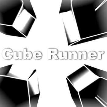 Cube Runner - *** Game music now is available in iTunes Store! http://itunes.apple.com/us/artist/fancy-hat-productions/id423555547?uo=4 or search for Cube Runner***Fly your ship across a landscape whilst avoiding the many treacherous cubes which lie in your path. Swoop through narrow gaps using the built-in accelerometer .FEATURES:- Simple controls using the accelerometer- Various levels of difficulty- Downloadable level packs - create your own designs and share them with friends.NOTE - To listen to your own music you need to turn off both sounds and music from within the game first.