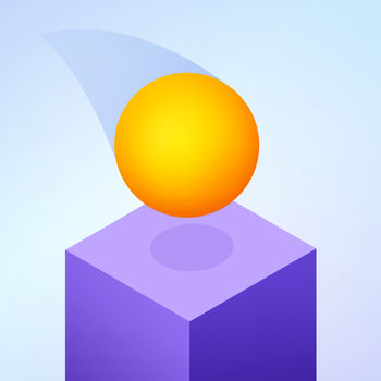 Cube Skip - Cube skip is an addictive reaction game with a deceptively simple mechanic :- Tap left to climb down- Tap right to jump over a missing cubeCollect gems as you descend and unlock new balls!How far can you go?
