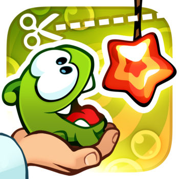 Cut the Rope: Experiments - Experiment to feed Om Nom candy! Cut the rope like never before. Everything you love and new gameplay! 200 levels and more to come!Eager to learn more about Om Nom\'s adventures? Watch \