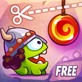 Cut the Rope: Time Travel Free - Join Om Nom as he travels back in time to feed his ancestors with candy. Cut the Rope: Time Travel  is a completely new adventure filled with time-traveling, candy-crunching, physics-based action! Eager to learn more about Om Nom\'s adventures? Watch \