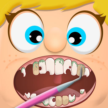 Dentist Office Kids - Dentist Office Kids is a fun game where you get to perform a variety of dental procedures on patients! Choose from over 9 different procedures including Dental Cleaning, Root Canal, Tooth Extraction, Teeth Cleanings, Crowns placement and more! Challenges are also available to put your dental skills to the test!Simple, pain free entertainment is at your fingertips! Ever wanted to play with the Dentist tools at the office? Here\'s your chance to do that now - no dental school required!
