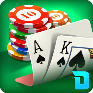 DH Texas Poker - Texas Hold'em - Over 27M downloads Texas Hold\'em Poker! Texas Hold\'em Poker on Android! 100% FREE to play! $50,000 initial FREE chips, DAILY gift, friends gift and online rewards - They\'re totally FREE! Exciting features that you can only experience in DH Texas Poker:# VIP Table - Experience Las Vegas VIP!# Private Table - Play with your friends!# Game mode - Play Now, Private Room, Select Casino, Sit&Go# Daily login lottery# Daily special offer# Online reward# Super chip package# Facebook connect is supported.Like us on https://www.facebook.com/droidhenpokerIf you have any suggestion/comment/problem, please mailto: support@droidhen.com. ============================================================================DON\'T TRUST ANYONE/ANY WEBSITES WHICH REQUIRE YOU INPUT YOUR USERNAME AND PASSWORD. YOU ARE NEVER ASKED FOR PASSWORD TO GET REWARD.============================================================================\