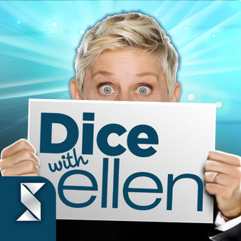 Dice with Ellen - Fun New Dice Game! - It's time to roll the dice… with Ellen! Dice with Ellen is a fun new dice game that lets you play games with friends, family and even Ellen DeGeneres herself! Play head to head against Ellen fans from around the world and see who can score a Five-a-palooza! You can even challenge your favorite members of Ellen's squad like Portia, tWitch, Jeannie and Andy to win loads of fun prizes. It's all the fun, excitement and craziness of your favorite TV personality, in a die game!Think you can beat Ellen's score? Take on Ellen's Lucky Dice Challenge and if you beat her daily score Ellen's Lucky Dice are yours to play with for the day! Player's around the world will know you're a real high roller when you show up to a game with those Lucky Dice!===Dice with Ellen Features===Dice Games with Friends, Ellen and The Ellen Squad!• Play against the Ellen squad to win special dice• Play other dice game fans for more bonus dice rolls and other tools• Dice tournaments give you new challenges and awesome bonuses each and every day!Head to head Games and Social Chat• Head to head games with friends where you can start and continue at any time• Facebook games allow you to play games with friends and family• In-game chats let you heckle your opponents and friendsDice Game Customization• Personalize your game with custom dice, including Ellen's Lucky Dice!• Show off snazzy profile frames you earn by completing challenges and leveling up achievementsBoard Game Bonuses• Win bonus dice rolls by playing the in-game scratchers• Activate bonus dice rolls to get an extra boost right when you need itTake on challenges in online dice games with friends and experience a new and exciting social experience in Dice with Ellen!ELLEN is a trademark of Crazy Monkey, Inc. and THE ELLEN DEGENERES SHOW is a trademark of Crazy Monkey, Inc. and Warner Bros. Entertainment, Inc. All related characters, materials and other elements of THE ELLEN DEGENERES SHOW are © Telepictures Productions Inc. (2017)
