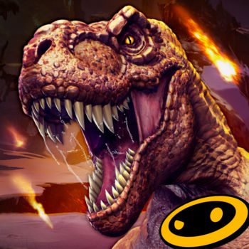 "DINO HUNTER: DEADLY SHORES - Hunt or be hunted! Embark on the dinosaur hunting expedition of a lifetime to kill the ultimate game in Dino Hunter: Deadly Shores.HUNT DINOSAURSJourney to a hidden, untouched Jurassic island and kill the most ferocious animals in history.  Encounter Jurassic beasts long thought extinct, from the docile stegosaurus to the terrifying T. rex.VISIT EXOTIC Jurassic LOCATIONSKill dinosaurs in lush and dangerous Jurassic environments like the shipwreck-strewn coast, overgrown jungle and dinosaur boneyard!EQUIP POWERFUL WEAPONSLoad up on firepower with destructive weapons like the rocket launcher and shuriken crossbow.  You'll need a powerful arsenal and an expert shooter strategy to kill these dinosaurs!MASTER A UNIQUE SHOOTER CHALLENGE SERIESProgress through varied shooter series to win rifles, shotguns and assault rifles. Make your kills and complete them all for even greater rewards!EXPERIENCE AMAZING GRAPHICSDynamic shadows, hi-res textures and realistic Jurassic models all combine to make this one of the most beautiful dinosaur shooter games on your mobile device!High-end, immersive tablet gameplay!""It's as if Glu Mobile was listening in on my mind as I imagined how good Deer Hunter 2014 would be with dinosaurs."" – Kotaku""… I am totally, absolutely, 100% completely behind blasting dinosaurs with guns until they explode, and happily that\'s exactly what Dino Hunter: Deadly Shores will let you do."" – AppSpy""Dino Hunter: Deadly Shores dishes up tons of behemoth-shooting action. It's an easy game to enjoy."" – Gamezebo""Dino Hunter: Deadly Shores is a solid shooter. The dinosaurs in the game are very well detailed and the game allows you to jump right in…"" – ModojoPLEASE NOTE:- This game is free to play, but you can choose to pay real money for some extra items, which will charge your Google account. You can disable in-app purchasing by adjusting your device settings.-This game is not intended for children.- Please buy carefully.- Advertising appears in this game.- This game may permit users to interact with one another (e.g., chat rooms, player to player chat, messaging) depending on the availability of these features. Linking to social networking sites are not intended for persons in violation of the applicable rules of such social networking sites.- A network connection is required to play.- For information about how Glu collects and uses your data, please read our privacy policy at: www.Glu.com/privacy- If you have a problem with this game, please use the game's ""Help"" feature.  FOLLOW US atTwitter @glumobilefacebook.com/glumobile"