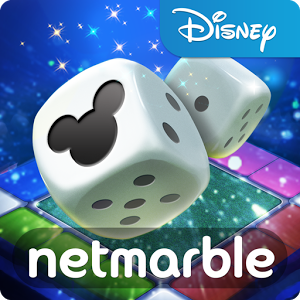 Disney Magical Dice - *Authorization for the external storage will only be used to save game data. *User information will be only used for adding in-game friends who play around. All data will be encrypted for your security Disney's 1st mobile board game is here!Join a cast of Disney Characters in Disney Magical Dice! Embark on an epic adventure! COLLECT cards and ROLL the magic dice to journey across fantastic Disney worlds!CREATE your avatar and choose from a variety of Classic Disney costumes! This property trading board game will allow you to explore your dream Disney world. Play with your friends anywhere, anytime!Features:* Disney landmarks: Cinderella castle, Peter Pan\'s Jolly Roger, Daisy\'s garden... collect them all! * Costume cards for your avatars: Cinderella, Maleficent, Snow White, Aladdin, Peter Pan, Woody, Buzz, Rapunzel, and more! The more you play the more costume cards you get! * Card collection and power-ups: expand your collection of Disney costume card avatars and strengthen them through power-ups and fusion to be the best at the game!* Play modes: Multiplayer games of up to 4 players playing at the same time using Bluetooth or the internet* Global competition via rankings: COMPETE with international players as well as your friends. EARN rewards for winning!Please note! Disney Magical Dice is free to play. However, some game items can also be purchased for real money. If you do not wish to use this feature, you can simply disable in-app purchases in your device\'s settings. A network connection is required to play.Minimum system requirements : CPU Dualcore 1.2GHz, Ram 1GBTerms of Service: http://help.netmarble.com/policy/terms_of_service.aspPrivacy Policy:  http://help.netmarble.com/policy/privacy_policy.asp?locale=enTablet Mode Available
