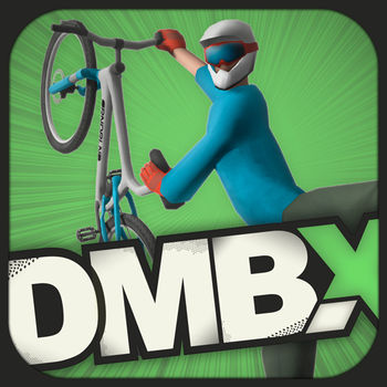 "DMBX - Mountain Biking Free - Go fast, show incredible tricks and earn coins – that's DMBX–Mountain Biking Free in short words ! DMBX – Mountain Biking is a fresh mix of downhill racing and trick challenges featuring amazing & unique bike trails with time-, coin- and score challenges. Start your virtual biking season right now and try DMBX for FREE- race downhill in the desert, throw down incredible tricks on the jumps or earn coins on the road – DMBX gives you all the possibilities. And don`t worry if your last day on the bike is well in the past though - anyway you don`t have to pedal yourself. You can play the tutorial level to get a feeling for the gameplay and to learn the basics of this amazing game. *** FREE VERSION - FEATURES *** - 2 unique game levels- 1 tutorial level - 2 challenges - replay option - HD retina-display support (iPhone 4/iPod touch 4) *** FULL VERSION - FEATURES *** - 10 unique game levels - 30 challenges - 8 individual male and female characters - individual special trick for each character - 8 different mountain bikes to choose from - ""career\"