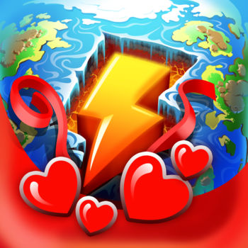 "Doodle God Blitz - Over 190 Million Players Worldwide!UNLEASH YOUR INNER GOD AND CREATE A UNIVERSE ALL ages puzzle game. Mix and match different combinations of fire, earth, wind and air to create an entire universe! As you create each element watch your world come alive as each element animates on your planet. The new ""Planet"" mode offers a challenging way to create a universe of your dreams. Of course the universe was not created in a day. You'll have to work your up from a simple microorganism to create animals, tools, storms and even build armies before you have what it takes to build the universe! But beware, the power of creation may have unintended consequences, inventing the wheel might just trigger a zombie plague… Don't worry, you are not alone on this cosmic journey! Every time you successfully create a new item you'll be rewarded with the wit and wisdom of some of the greatest philosophers and comedians of all time. Unleash your inner god with Doodle God™!NEW GAMEPLAY FEATURES-New F2P mode & new game play features.-One build for your iPhone, iPad or iPod touch.-The ability to turn off Ads!-Now available in 13 languages: English, Dutch, French, Spain, Italian, Russian, Japanese, Chinese, Korean, Portuguese, Swedish, Polish & German.-NEW Visual ""Planet"" Mode allows players to see their planet come alive as you play.-NEW ""Mission"" Mode offers new challenging puzzles-New Artifacts Mode: Collect ancient artifacts like Stonehenge created by amazing triple reactions.-Mold fire, wind, earth and air to create the Universe.-Create 300+ advanced items and concepts.-Hundreds of interesting, funny and thought-provoking quotes and sayings.-New ""Puzzle"" mode. ?Create locomotives, skyscrapers and more-New ""Quests"" mode. Can you save the Princess or escape a Desert Island?-New reactions with existing elements and episodes.-New achievements.-New Elements encyclopedia with wikipedia links.-Improved mini-games for arcade fans.Follow us to get early access to exclusive content, price drops and updates:LIKE: www.facebook.com/doodlegod FOLLOW: www.twitter.com/joybitsmobileCheck out our other exciting games!  Doodle Devil™  & Doodle Farm™"