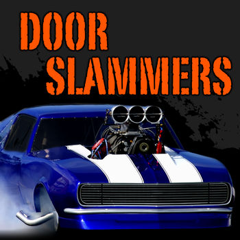 Door Slammers Drag Racing - Door Slammers Classic, see version 2 for latest release.Heat up your tires with long smokey burnouts and when the green light drops launch full throttle with your wheels in the air! Push your skills to the limit rapidly accelerating to over 200 mph all the while doing your best to keep from smoking the tires or blowing your engine on a tricky racing surface.Pray your engine and chassis tuning are just right as you try to be the first to pilot across the finish line... but don\'t forget to pull the chute as you stand on the brakes before flying off the end of the track and into the sand traps!Hone your reaction and ET as you strive for the perfect run in the bracket classes or drive on the edge of sanity in the heads up and grudge racing events.Race online with your friends or around the world in live multiplayer action. Work your way through the rankings and try to get into the daily top 10.AMAZING 3D GRAPHICSSmokey Burnouts, Header Flames, Nitrous Purges, Wheels Up Launches, Functional Parachute, Gear Shifting, Custom Paint, Hood Scoop, Wings and Wheelie Bars.HEAD TO HEAD MULTIPLAYER RACINGBracket Racing, Heads Up and Grudge Racing. Negotiate Time and Distance Head Starts and Race Lengths All The Way Up to 1 Mile.ENGINE CUSTOMIZATIONSmall Block, Big Block, Mountain Motor, Carburetor, Fuel Injection, Tunnel Ram, Turbo, Nitrous, Blower and Fire Breathing Fender Exit Exhaust.CHASSIS CUSTOMIZATIONHood Scoops, Custom Wheels, Paint, Lettering, Transmission, Wings, Brakes, Parachute, Wheelie Bars, Suspension.