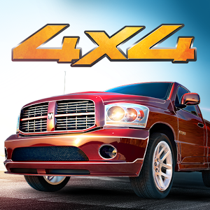 Drag Racing 4x4 - Drag Racing 4x4 is the hit spin-off from Drag Racing, it features bigger and badder 4x4 trucks and SUVs, from the legendary Ford F-150 to the huge Monster Truck.