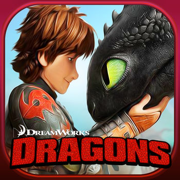 Dragons: Rise of Berk - Build your OWN Berk! Rescue, hatch and train your favorite DreamWorks Dragons! Explore uncharted lands in a vast Viking world! Join Hiccup, Toothless and the gang to protect your village from the mysterious strangers that threaten peace on Berk.