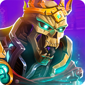 Dungeon Legends: Skeleton King - Help your people! Join the fight against the Skeleton King, and become a hero in the dungeons.