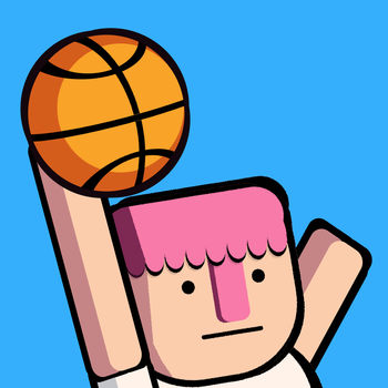 Dunkers - Its time to hit the court for some crazy slam dunks. Steal the ball from your opponent then slam dunk it in the net.Fight for glory in career mode or aim for a high score in arcade mode.Play against a friend on the same device in 2player modeBoomshakalaka!