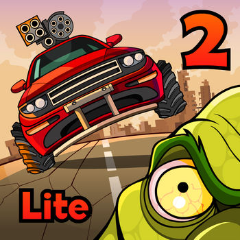 Earn to Die 2 Lite - Drive your car through a zombie apocalypse in this massive follow-up to the chart-topping hit Earn to Die!Earn to Die 2 Lite lets you test-drive the game so you can see if you have what it takes to survive the zombie apocalypse!An evacuation ship is waiting on the other side of the country. The only thing that stands in your way: city after city overrun by zombies. With only a run-down car and a small amount of cash you face a familiar situation... to drive through hordes of zombies in order to survive!KEY FEATURES? Brand New Story Mode: The game departs its familiar desert setting and delves into the depths of cities infested by zombies.? Multi-Tiered Levels: Drive across decayed highway overpasses, via underground tunnels or smash through epic zombie filled factories? Build a zombie-slaughtering machine: Each vehicle can be equipped with a range of upgrades, such as armored frames, roof-mounted guns, boosters and more.? Destructible Vehicles: Hang on your life as your vehicle gets smashed to smithereens if you aren't too careful.What are you waiting for? That rescue ship isn\'t going to wait forever! Prepare yourself for a wild ride - and seriously, there is nothing like smashing through zombie-filled factories!Note: Some levels and vehicles shown in the screenshots are only available in the full version of the game.