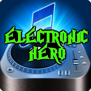 Electronic Music Hero - Become an Electronic Music Hero with this awesome game. A funny game will test your skills to play the guitar and follow the rhythm of the music. Hit the notes at the right time to get the highest score! Features: - New songs to be played - Leaderboard and Achievements - Level Management And more fun!