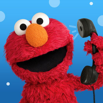 Elmo Calls - This is an app full of fun phone calls from Elmo, which will help teach your child about healthy habits, self-confidence, and letters.Same great Elmo Calls with a brand new look and a new set of features, including even more fun calls! Now easier for kids to find and replay favorite calls. Plus, an improved Grown-ups section for accessing, favoriting, scheduling and adding calls. Pick up the phone, Elmo's calling! Receive video calls, audio calls, and voice mail from Sesame Street's own furry, red monster. Or, give him a call yourself! With Elmo Calls you can laugh, play, and sing with Elmo! FEATURES • Receive audio and video calls from Elmo, or dial Elmo yourself. • Receive voicemail from Elmo regularly and listen to the messages any time. • See live video of yourself in the corner of the screen while you're chatting with Elmo. • Grown-ups can activate calls or schedule calls for a variety of situations, such as time to wake up!  (more calls for going to the doctor, bath time and learning to potty available with additional call packs) LEARN ABOUT \