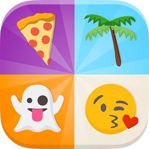 Emoji Quiz - 5,000,000+ downloads worldwide! Emoji Quiz is finally available in English! The idea is simple: you'll be shown a series of emojis and just have to guess what they represent.