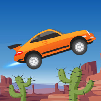 Extreme Road Trip - Your gas pedal is stuck!  Tilt your car to keep it rolling and jumping.  Do stunts to get nitro boost so you can do more stunts to get more nitro boost.  It\'s fun, it\'s fast and it\'s free, so get it now!The goal of the game is to get as far as possible on a limited reserve of gas.  You wont consume gas when boosting, so doing stunts will get your farther.  Though it might also make you crash...  such is the game.The game features awesome music by Magnus \