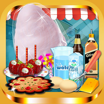 Fair Food Donut Maker - Games for Kids Free - Make and decorate fair food at the carnival!!Fried dough, donuts, cotton candy, and more!!Have a blast playing this fun food maker game!