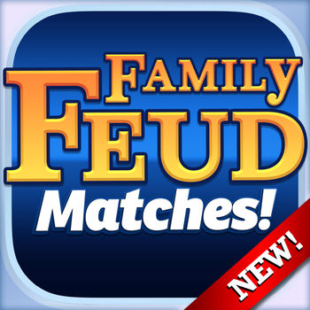 Family Feud Matches! - SURVEY SAYS LET'S PLAY THE FEUD!Play Family Feud live with a partner, snicker at their strikes, while guessing what the most popular answers on the board are.Feud Matches! is the best way to connect with someone that YOU want to play with. Swipe through pictures of people online RIGHT NOW and, when you see someone you like, invite them to a match. Get to know them better through games and chat. Level up together for awesome rewards.Featuring:- Umi Match: Play games with your perfect match, LIVE!- Find out more about your match with in-depth profiles- Over 2,500 Brand New Surveys- All-New Live Gameplay- Laugh with your opponent using our FREE In-Game ChatFamily Feud Matches! uses Facebook to ensure that everyone you meet is authentic. We will never post anything to Facebook.Are you and your match ultimate Feuders? Play NOW for FREE!- Family Feud Matches offers monthly subscriptions at USD $4.99- Please note prices may vary depending on sales taxes or countries- Payment will be charged to iTunes Account at confirmation of purchase - Subscription automatically renews unless auto-renew is turned off at least 24-hours before the end of the current period - Account will be charged for renewal within 24-hours prior to the end of the current period, and identify the cost of the renewal - Subscriptions may be managed by the user and auto-renewal may be turned off by going to the user\'s Account Settings after purchase - No cancellation of the current subscription is allowed during active subscription period - Any unused portion of a free trial period, if offered, will be forfeited when the user purchases a subscription to that publication. Privacy policy can be found at http://umi-mobile.com/privacy-policy/Terms of service can be found at http://umi-mobile.com/terms-of-service/By installing this application you agree to the terms of the licensed agreements.