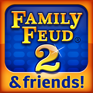Family Feud® 2 - *** Tabby Awards Winner: Users' Choice 2015 *** ***It's time to play Family Feud 2 with your friends!*** Survey Says: Play the Sequel to the Ultimate Social Gaming experience on the go! ------------------------------------------ The all new Family Feud & Friends 2 is finally here! Enjoy stunning new graphics, all new surveys and twists allowing you to boost your scores! Find out who is the best Family Feud player by challenging your friends, family and the larger Family Feud & Friends community in head-to-head competition.