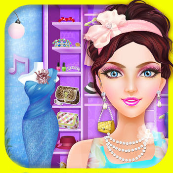Fashion Makeup Salon - Girls games - Every girl loves go to fashion salon, Come to makeover and dress up the girl, and let her become the most beautiful one?It\'s a kids games for girls!