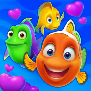 Fishdom - Never Fishdomed before? Take a deep breath and dive into the underwater world of match-3 fun with Fishdom!Engage in challenging and fun match-3 gameplay with unique twists as you decorate tanks to create cozy homes for lovely talking fish. Feed them, play with them, and watch them interact with each other. Hey, your finned friends are waiting for you—dive in now and enjoy the amazing underwater saga!Features:● Unique gameplay: swap and match, design and decorate, play with and take care of fish—all in one place!● Play hundreds of challenging and fun match-3 levels● Explore an exciting aquatic world with amusing talking 3D fish that each have their own personality● Liven up tanks with breath-taking underwater decor● Grab your scuba mask and enjoy amazing graphics● It's a blast for everyone: share your Fishdom mania with Facebook friends!Please note! Fishdom is free to play, though some in-game items can also be purchased for real money.Enjoying Fishdom? Learn more: Facebook: facebook.com/Fishdom Instagram: https://www.instagram.com/fishdom_mobile/ Twitter: https://twitter.com/FishdomOfficialQuestions? Contact our tech support at support@playrix.com.