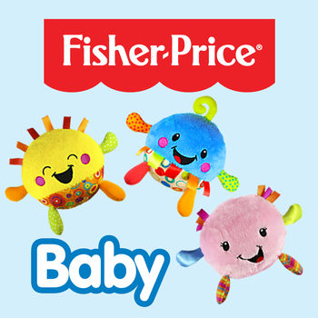 Fisher-Price Giggle Gang App for Baby - The Giggle Gang App from Fisher-Price is packed full of fun activities that encourages baby to interact with engaging animation and sound effects while introducing the Giggle Gang! Designed for babies 6 mos. & up.Features: Baby can tap or tilt the screen to interact with the Giggle Gang characters.Features two levels of play to grow with baby.In level one, tap the screen to make Giggle Gang characters appear and interact with babies touch, bouncing and giggling – or – tilt the device to make the characters bounce around the screen.In level two, tap on the key board or each member of the Giggle Gang to play your favorite giggles or music notes – learn a song about the Giggle Gang.Baby can dance along with six sung ditties and a sing along song!Record your own giggle! A record button for mom allows her to select a character and record her own giggle for baby.==========================================================================We recommend parent and child joint media engagement. See our Media Viewing Tips at:  http://www.fisher-price.com/en_US/playtime/keepinmind.html