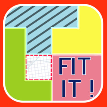 Fit It! - *NOW FREE for a LIMITED TIME!*>>>now with OVER 2 MILLION DOWNLOADS! you\'ve got the PIECES... NOW put them TOGETHER!>>>the goal of \'fit it!\' is simple: take the blocks on the left and make them into a perfect square.sound easy? sometimes, the simpler the rules, the harder the game...>>>UNLIMITED LEVEL DOWNLOADSthat\'s right, this is the game that gives you brand new content everyday. with \'fit it!\' players submitting brand new levels every single day, you\'ll be playing till the cows come home!LEVEL BUILDERbuild your own levels, then upload them for all \'fit it!\' players to enjoy!PERSONAL BEST RECORDSstrive for ever faster puzzle completion times. your best times will be staring you in the face. can you do better?4 DIFFICULTIESthink you\'re hot stuff? after easy, medium, and hard... there\'s still hardest. and if that isn\'t enough, any player can make any kind of level he or she wants to. just think about how insane that might get...IPOD MUSIC PLAYBACKrock and puzzle at the same time with full ipod integration.>>>http://twitter.com/TRINITIgameshttp://facebook.com/TRINITIgames
