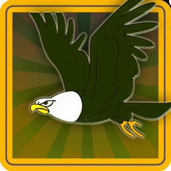 Flappy Eagle - Bird Adventure Earn Your Wings - The greatest bird dodging game yet! Get ready for a real Challenge as you help weave a determined eagle through slim rock passages. Challenge the world on Game Center!! Can you be the best flyer in the world?