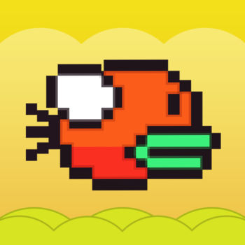 Flappy Hero Go: jumpy wings bird - The Most Classic  Flappy Bird! You\'re worth it, MUST BE?Flappy your wings,it\'s a bird hero.To be a flappy hero?>Wash your hands.>Pay attention to the pipes,and wings.>hold on for 10 minutes...How fast you finger,how far you can fly!