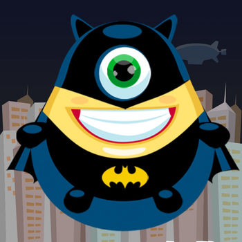 Flappy Super Hero - Adventure Game of Bat Suit Fly - Easy to play, Hard to master! Your life will be taken control by this bat! > Collect coins to be reborn. > Avoid pipes. > Try to get 4 medals: Bronze, Silver, Gold (hard), Platinum (very hard) > Compete with your friends