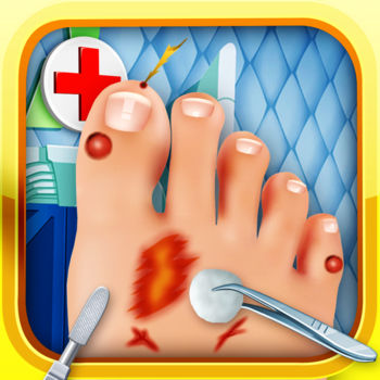 Foot Doctor Nail Spa Salon Game for Kids Free - Become a foot doctor and help out these crazy patients!!These patients need your help and foot expertise!! Have fun!