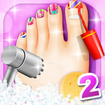 Foot Spa - Kids games - Every girl loves Foot Spa, Come to makeover and dress up in the Foot Spa.It\'s a kids games for girls!
