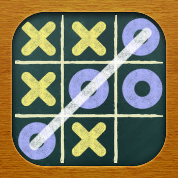Free Noughts and Crosses (Tic Tac Toe Free) - The #1 Noughts and Crosses app for iOS just got better. Play against your Game Center friends or random opponents using our new turn-based multiplayer feature! Put away your pencil and paper - now you can play Noughts and Crosses on your iPhone or iPod Touch for free.  Free Noughts and Crosses is the first full-featured, free Noughts and Crosses game for the iPhone and iPod Touch.  Free Noughts and Crosses supports one player and two player gameplay, so you can play against another human or against your iPhone.  The AI for one player mode includes three difficulty levels, so you can play against a computer player that matches your skill level.  A move randomization engine ensures that your iPhone won\'t keep making the same moves over and over again.Our new turn-based network play feature allows you to play up to 16 simultaneous network games against your Game Center friends or random network opponents over Wi-Fi or 3G. Free Noughts and Crosses offers a host of exciting features, including:* Turn-based network play over Wi-Fi or 3G * Great graphics and exciting sound effects* Configurable player names and score tracking * Undo function * Automatic save when you get a phone call or exit the application Free Noughts and Crosses is supported by unobtrusive banner advertising.  Tic Tac Toe Pro is the same great app without the ads.